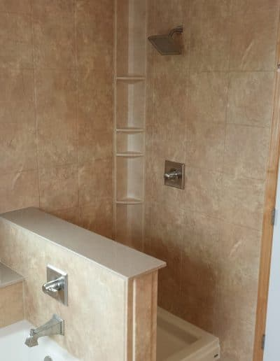 Walk-in Shower & Bath Remodel