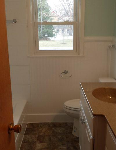 Bathroom Remodel with New Vanity