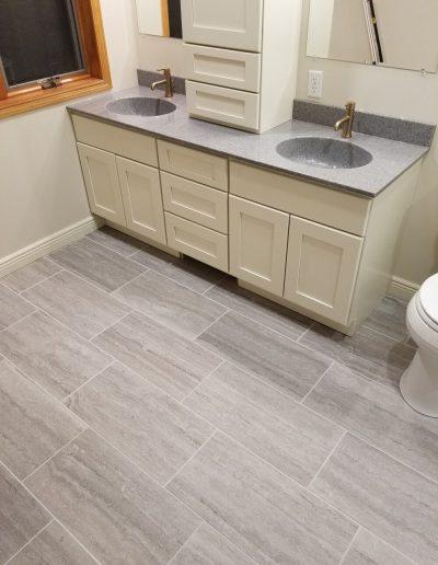 Vanity & Bathroom Flooring