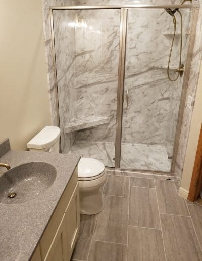 Bathroom Remodel & Walk-in Shower
